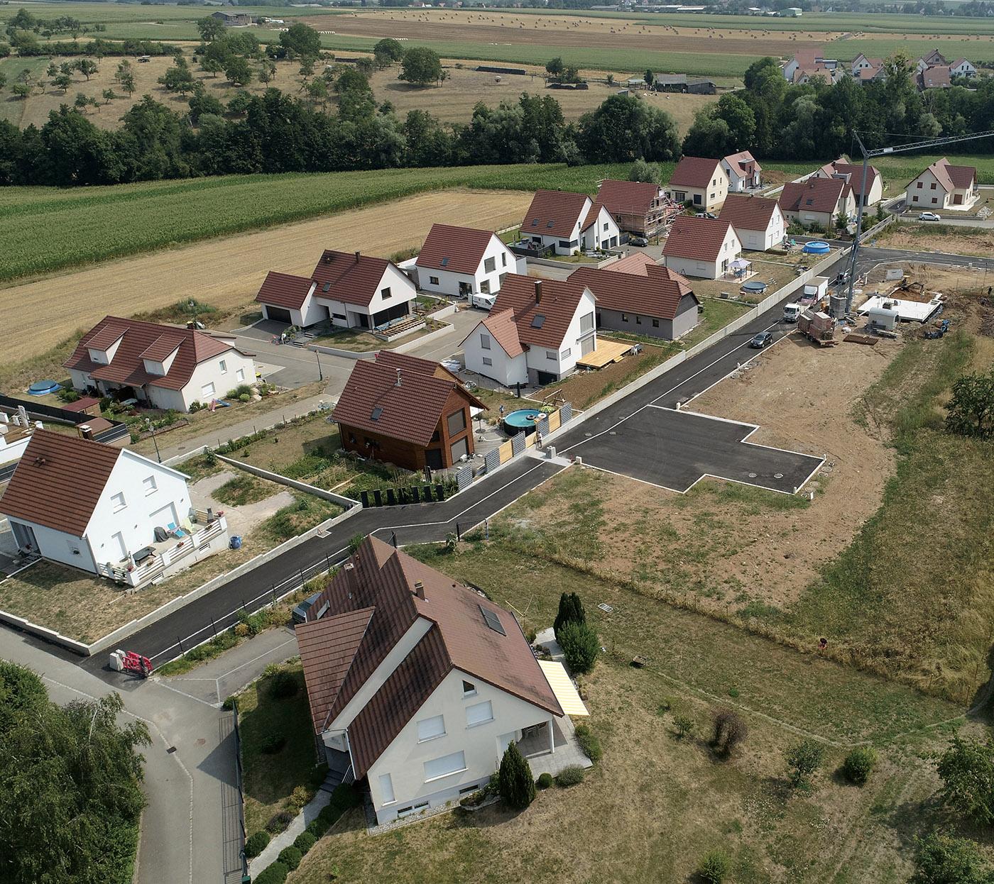 Vente de terrains à Wilwisheim